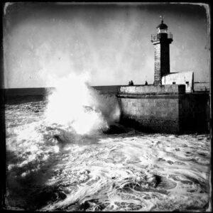 Lighthouse, Foz, Porto, Portugal