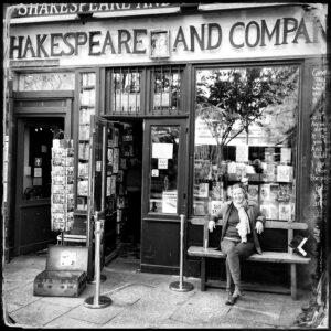 bookstore, paris