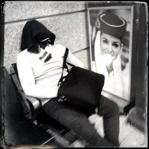 traveler, airport