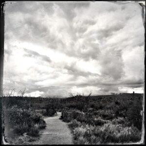 sky, path