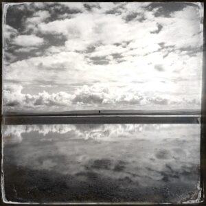 beach, sky, clouds